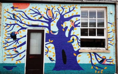 The Parable of the Mustard Seed Mural