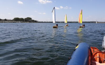 Eagle Class at Grafham Water