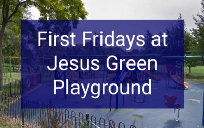 First Fridays at the Jesus Green Playground