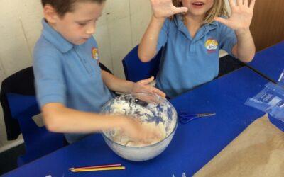 Bread Making in Robin Class